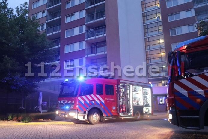 Brand bij zorginstelling Livio in Enschede