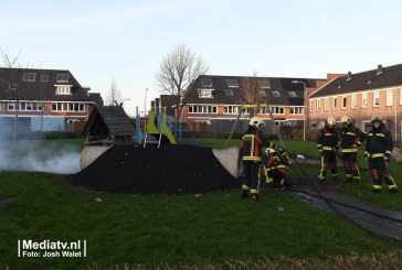 Brand in speeltoestel in Woubrugge