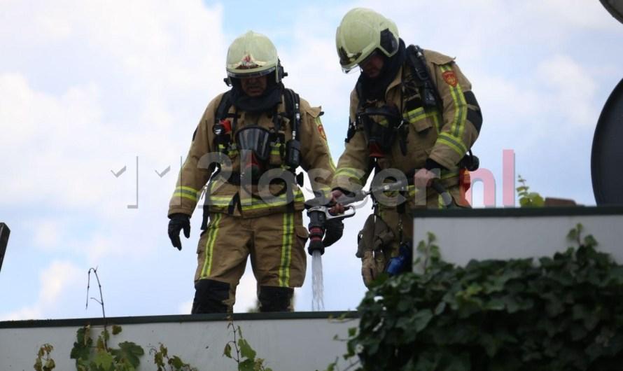 Brandweer rukt uit voor brand in Glane