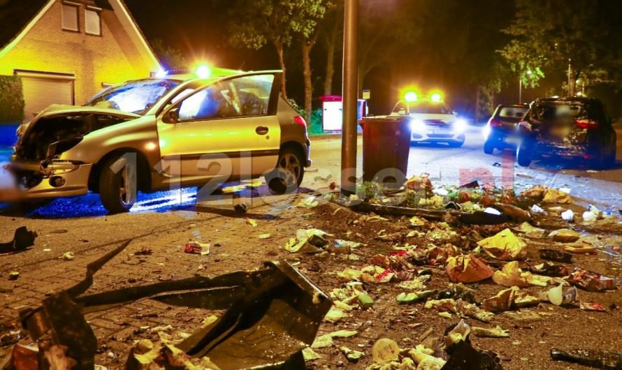 Ravage na crash op de N732 in Losser