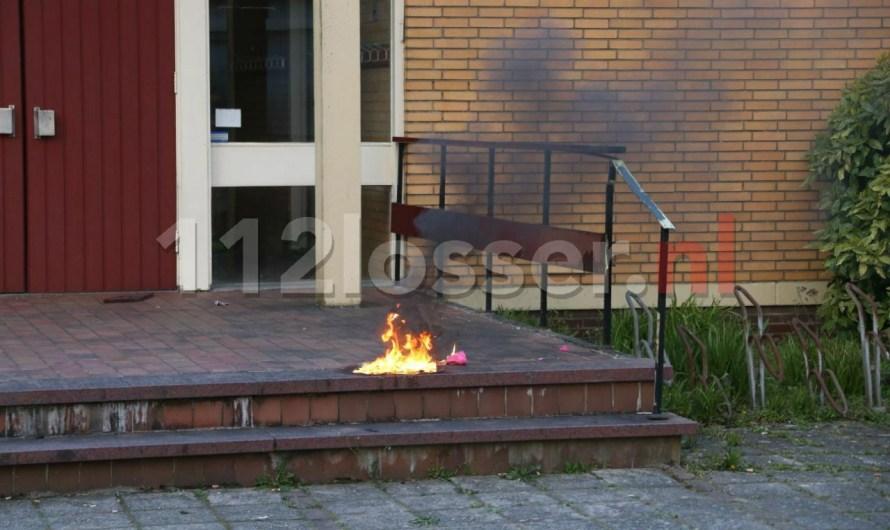 Brandweer blust brandje in Losser