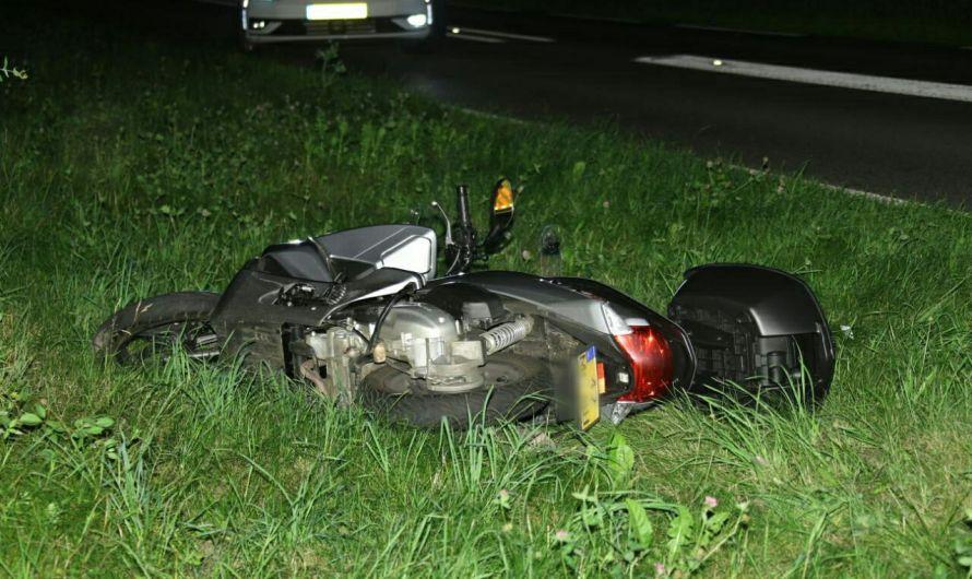 Motorrijder gewond bij botsing met bestelbusje in Losser