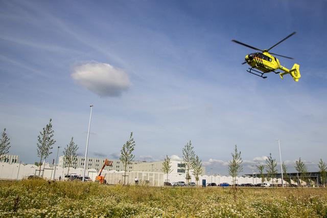 Traumahelikopter ingezet voor incident in Justitieel Cellencomplex Schiphol