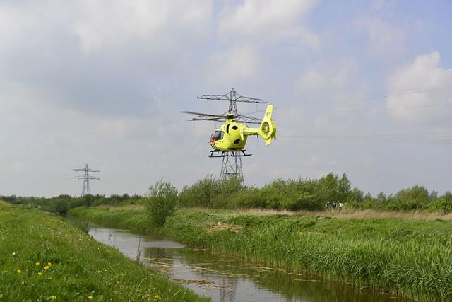 Nieuw-Vennep: Ruiter ernstig gewond na val van paard