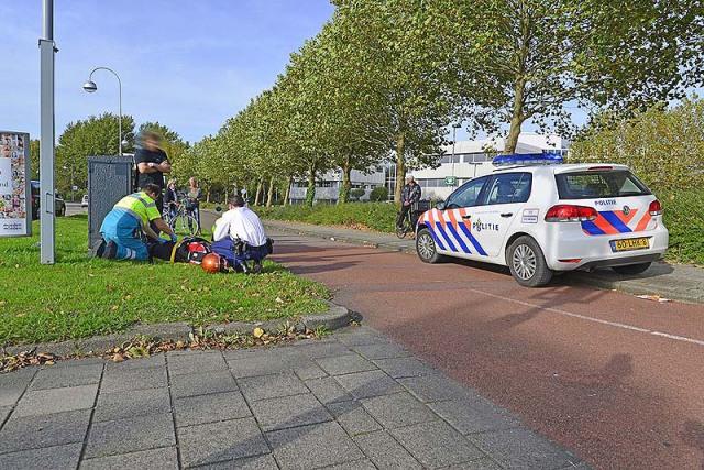 Hoofddorp: Wielrenner gewond na frontale aanrijding