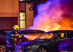 Beverwijk – Geparkeerde auto uitgebrand