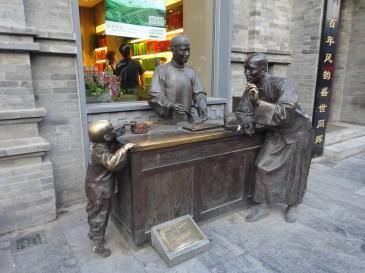 Beijing Statue