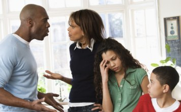 How men react to divorce is with anger and frustration
