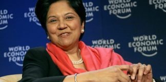 Indra K. Nooyi, Chairman and Chief Executive Officer, PepsiCo, USA; Co-Chair of the World Economic Forum Annual Meeting 2008, Davos, Switzerland,Most Powerful Women 01/27/08.