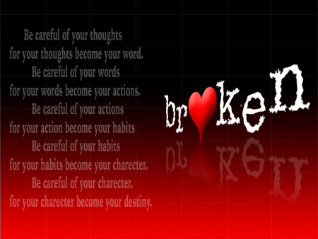 How to mend a broken heart quote