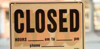 when you stop having sex or endure celibacy you put up the closed sign