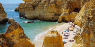 4 Off Beat Summer Vacation Ideas for Families beautiful beach in portugal