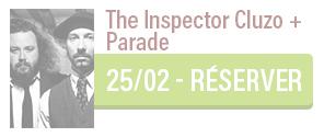 Concert de The Inspector Cluzo