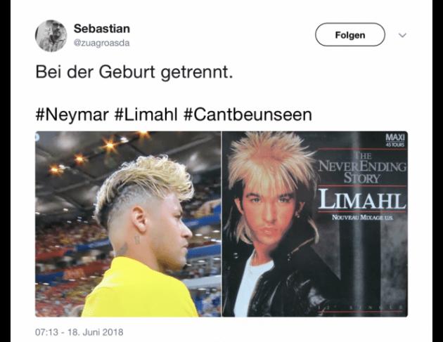 An wen will Neymar mit seiner neuen Frisur erinnern  11