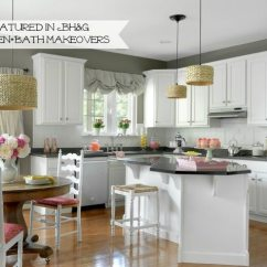 Kitchen Redo Discount Countertops With White Painted Cabinets And Tile Backplash 11