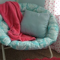 Girls Pink Desk Chair Coccyx Office Bedroom W/ Aqua Blue, Pink, Green, With Paris Accents   11 Magnolia Lane