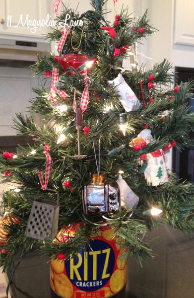Christmas Vignettes and my Laundry Room  Christmas Trees