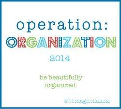 operation organization button