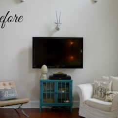 Diy Shelves In Living Room White And Black Gloss Furniture Our New Home Tutorial On Built 11 Magnolia Lane Before
