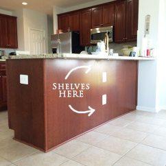 Undercounter Kitchen Sink Replacement Doors Homeright Bookcase Challenge--diy To ...