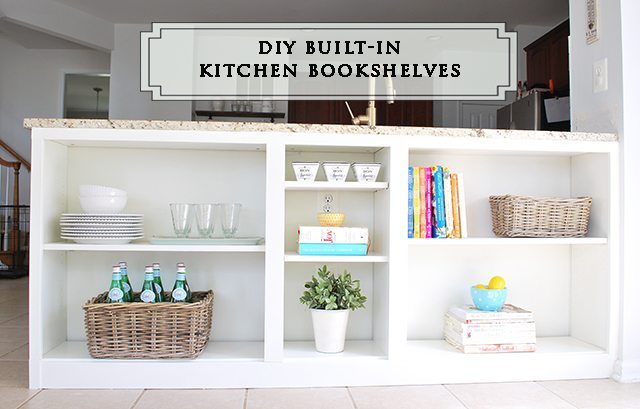 kitchen bookshelf paint colors for small kitchens homeright bookcase challenge diy to shelves 11 complete header