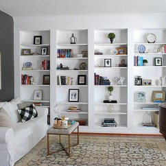 Diy Shelves In Living Room Sets Houston How To Build Built Bookcases From Ikea Billy Bookshelves 11 Our Latest Videos