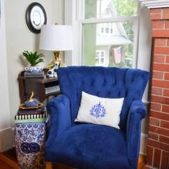 Velvet Chair Design Swivel Rocker Recliner Chairs Crushing On My Blue 11 Magnolia Lane