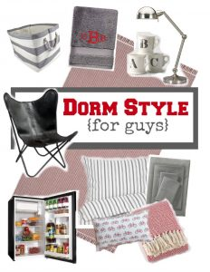 dorm chair covers etsy black spindle back chairs projects 11 magnolia lane decor style ideas for guys