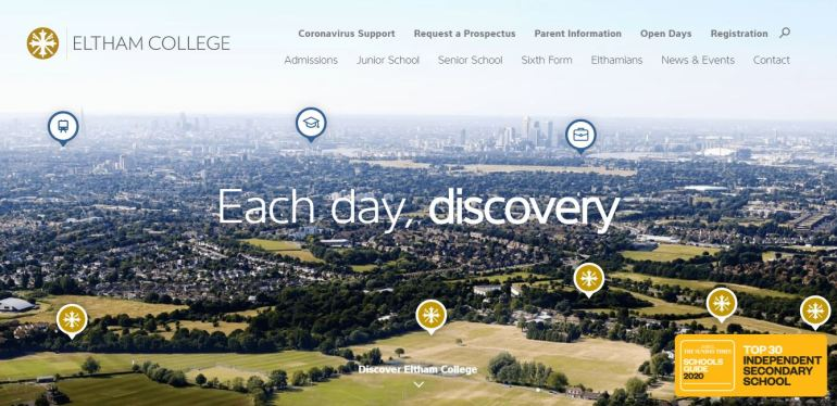 Eltham College Home Page