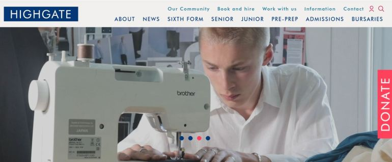 Highgate School Home Page