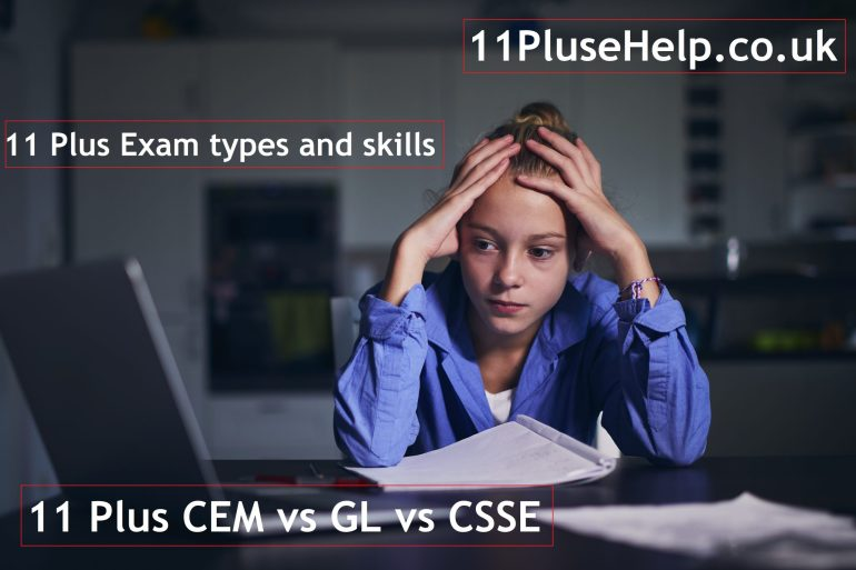 11 Plus-CEM-vs-GL-vs-CSSE