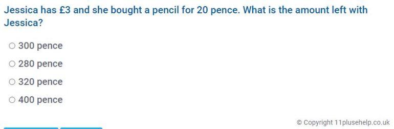 Year 4 Measurement Example 1