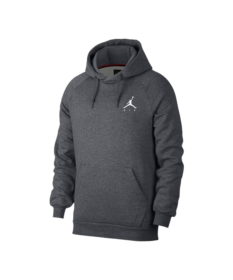 Jordan Jumpman Fleece Sweatshirt Grau F091 Lifestyle