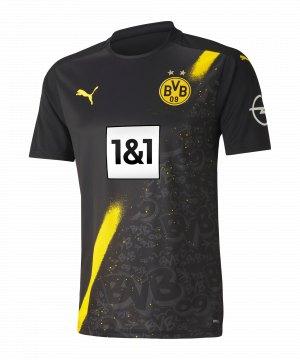 PUMA BVB Dortmund Trikot Away 2020/2021 Schwarz F02