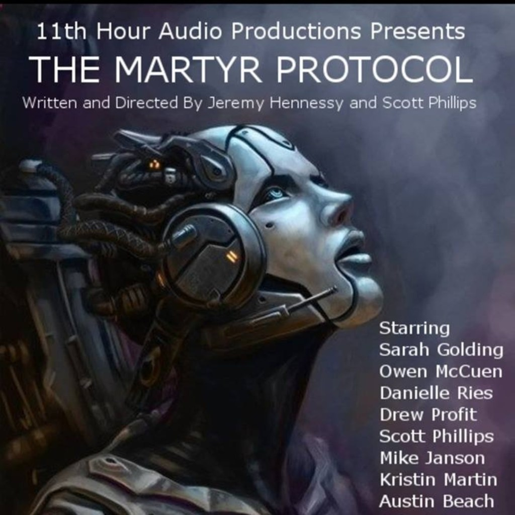 cover image for the martyr protocol