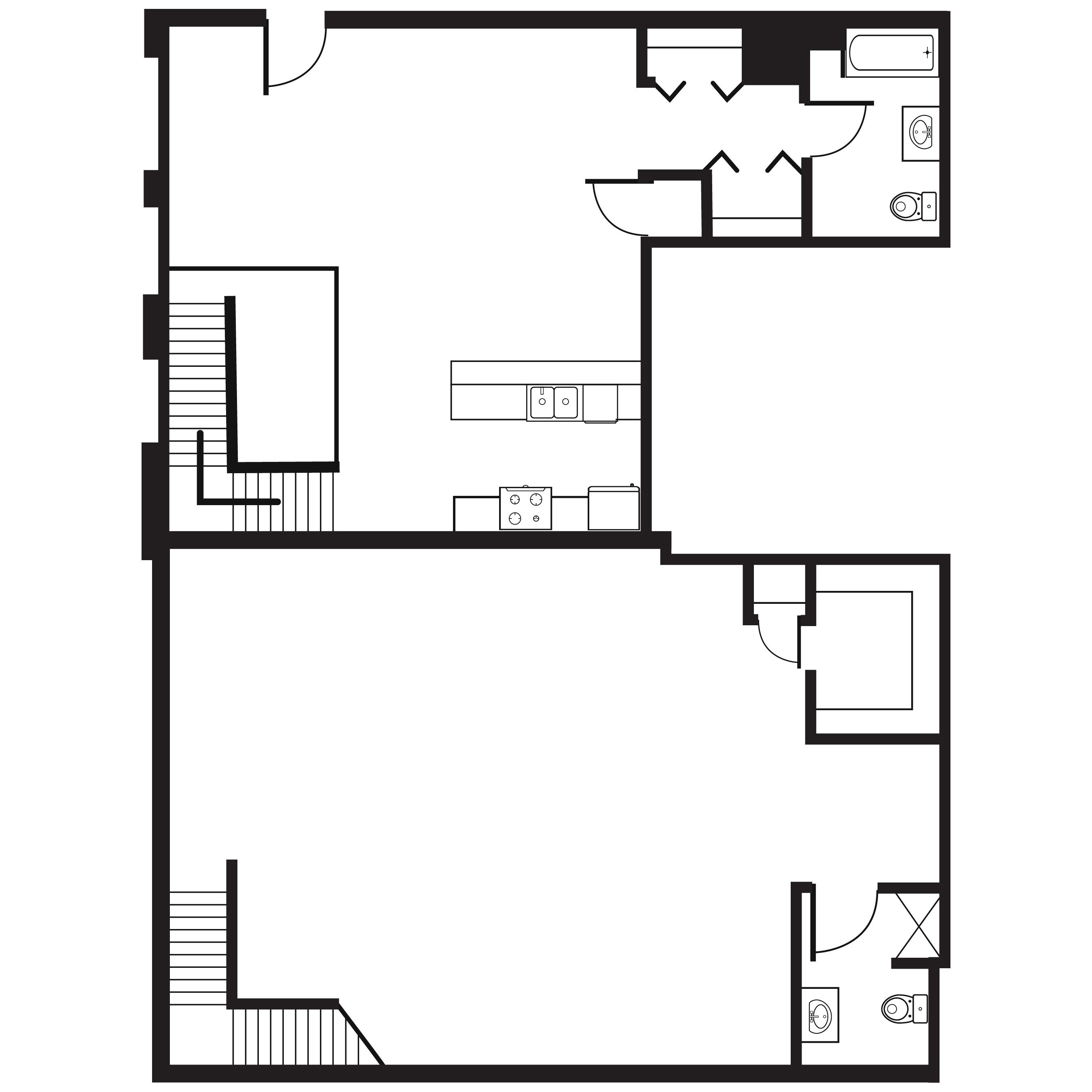 11th Street Floorplans
