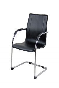 Aston Leather Effect Cantilever Visitors Chair BCP/O428 ...