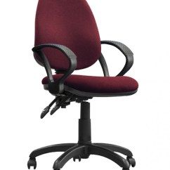 Red Office Chair No Wheels Rustic Bistro Table And Chairs Eliza Tinsley Java 200 High Back Operator Bcf P505