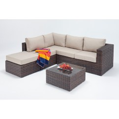 Small Wicker Sofa Cheap Comfortable Sofas Rattan Sets Windsor Corner Set Wgf 2701