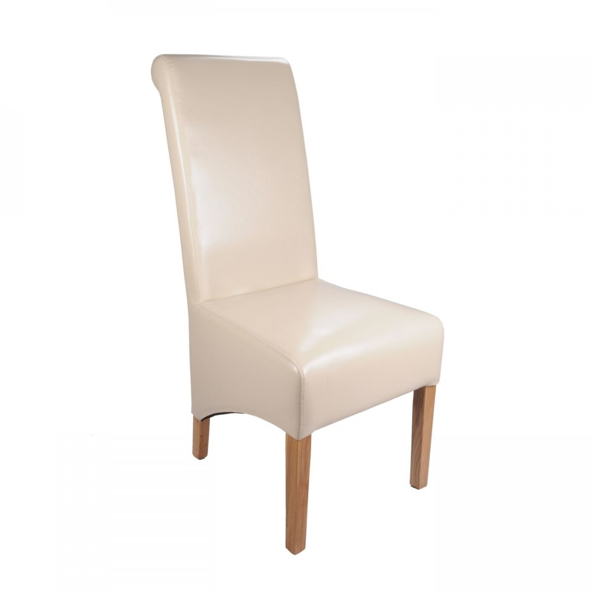 ivory dining chairs uk weird rocking chair shankar krista bonded leather
