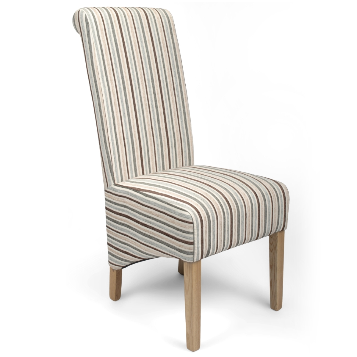 striped dining chair sofa and set chairs krista stripe in duck egg blue