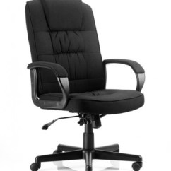 Office Chair Ratings 2016 Massage Earthlite Dynamic Xenon Black Fabric Executive With White Shell 121 Chairs Moore In