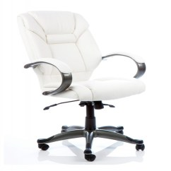 Ivory Leather Office Chair Desk Chairs Target Dynamic Galloway Executive Armchair In 121 Furniture Gallowayivory