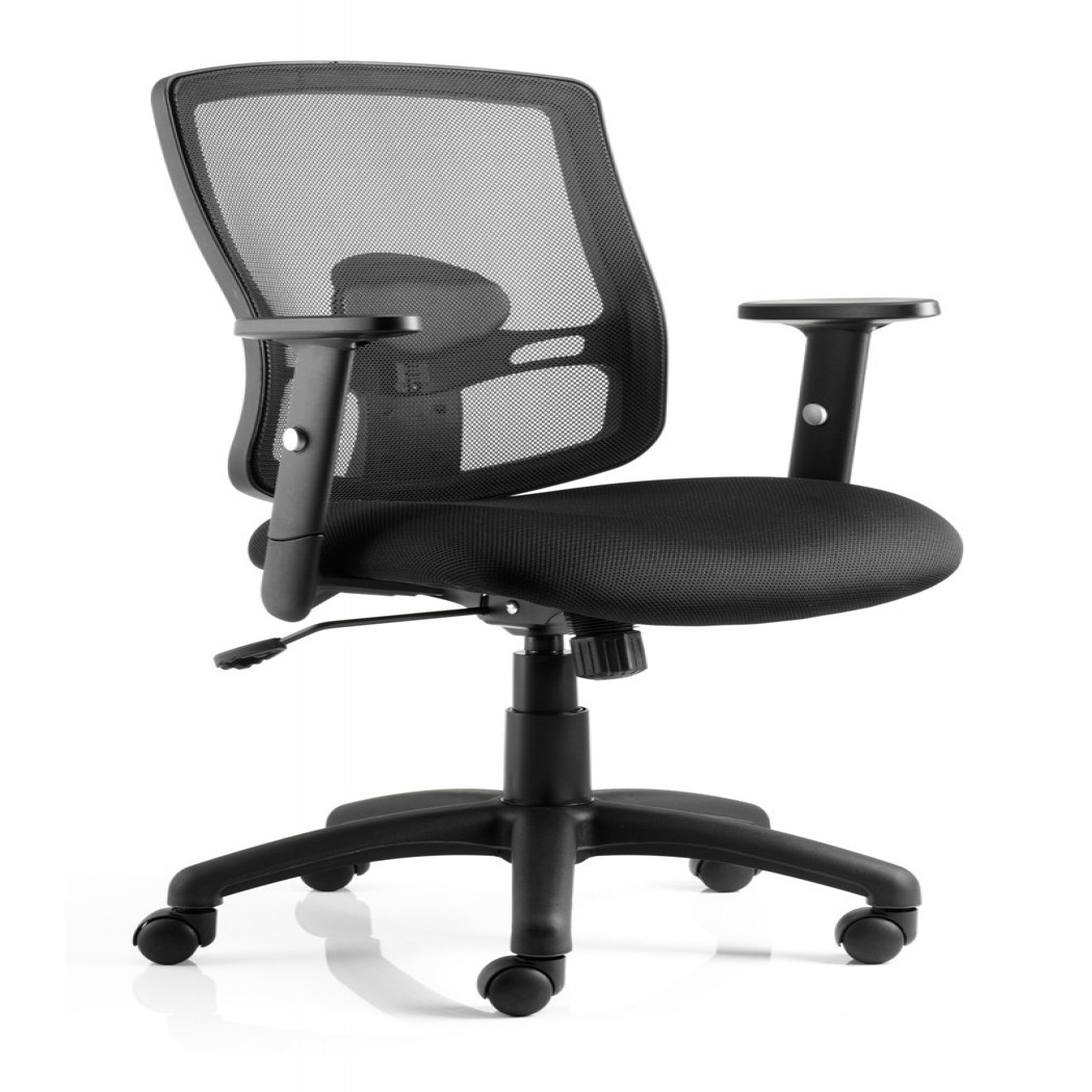 mesh back chairs for office parson with arms dynamic portland chair 121 furniture