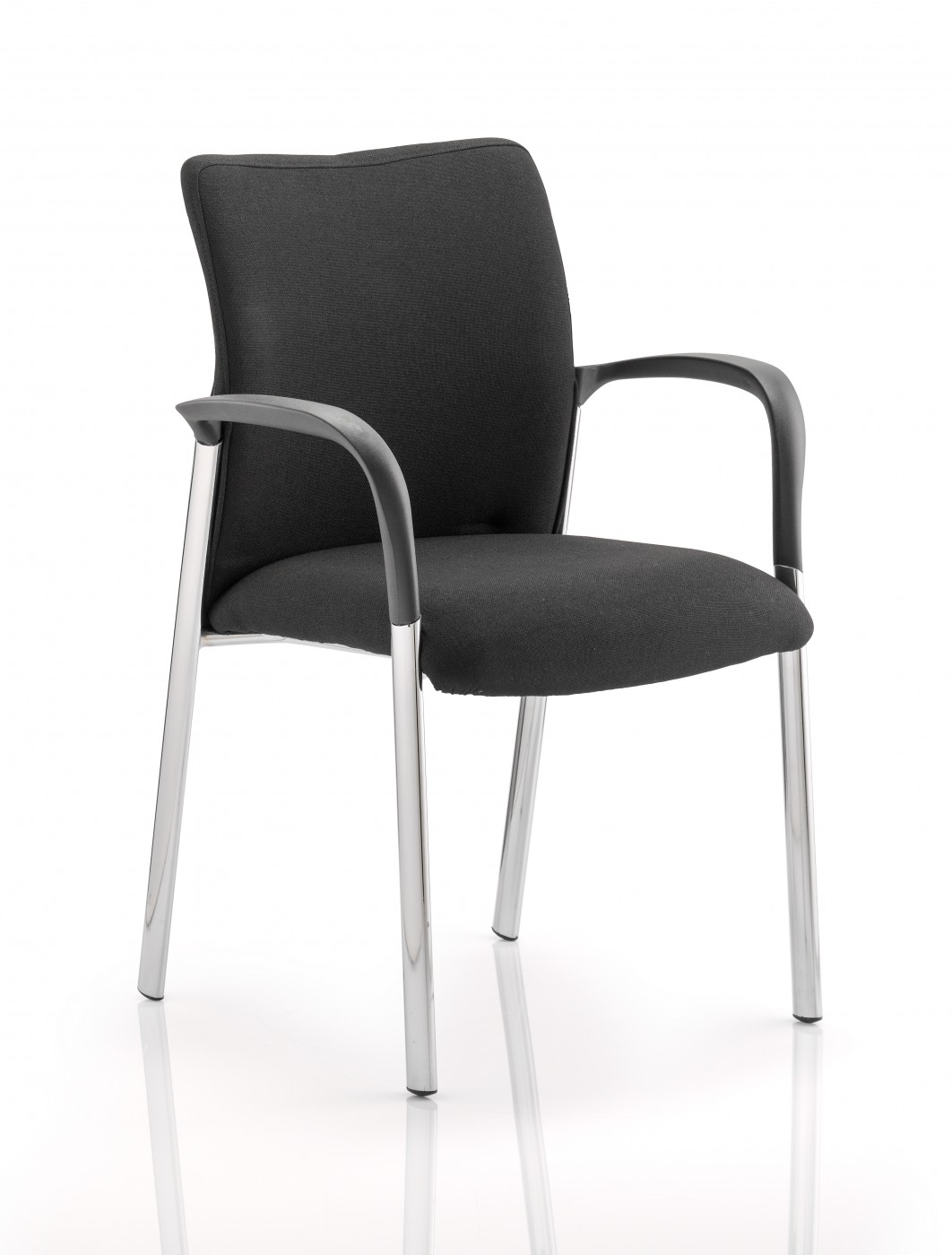 stackable chairs with arms staples big and tall academy fabric visitors conference chair 121