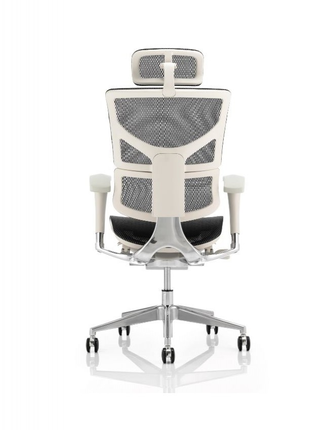 white mesh office chair uk modern brown leather armchair ergo dynamic back eohrgfblkmesh 121 furniture with grey frame and headrest eo02gfblkmesh enlarged view