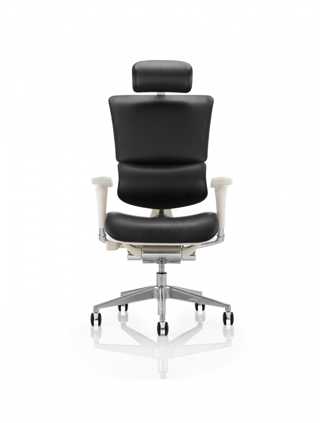 ergo chairs for office glider swivel chair dynamic leather eohrgfblthr 121