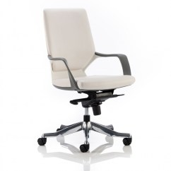 Executive Office Chairs Specifications Foot Massage Chair Dynamic Xenon White Leather With Shell 121 Medium Enlarged View