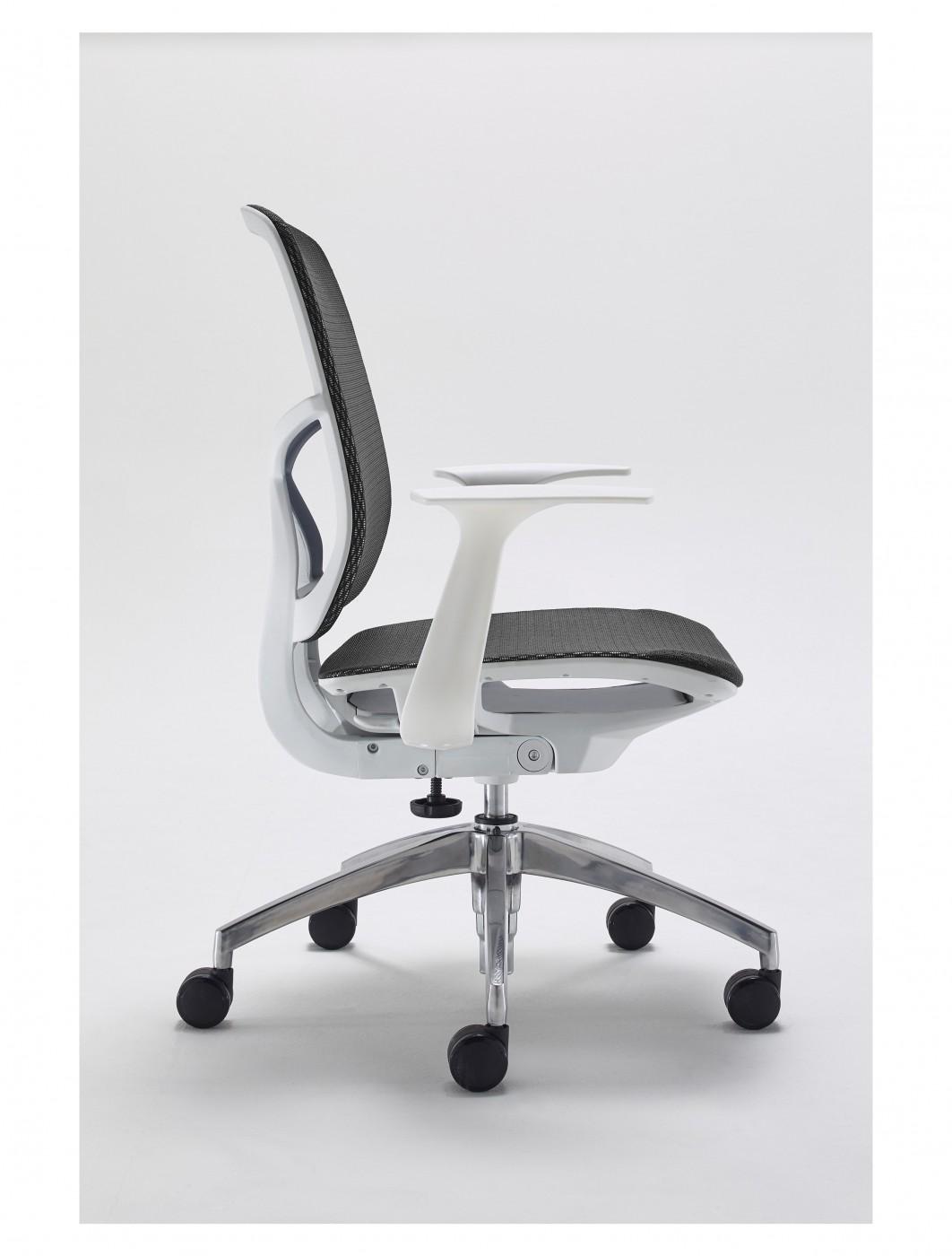 office chair pedestal brown desk and mesh bundle etcbund16rbe