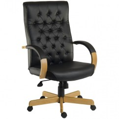 Noir Furniture Chairs Big Leather Chair Warwick Executive B8501m 121 Office